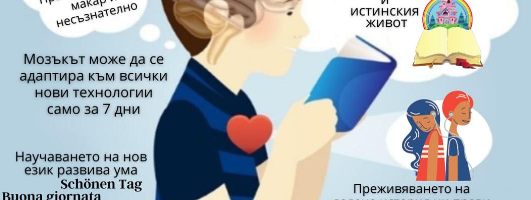 7 + 1 неща, които се случват с нашите умове, когато четем